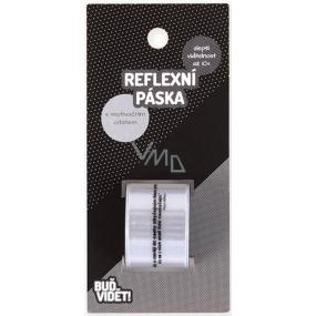 Albi Buď vidět! Reflexní pásek Stříbrný, zvýší viditelnost až 10x
