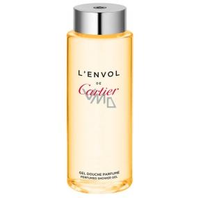 Cartier L Envol de Cartier sprchový gel pro muže 200 ml