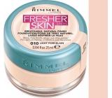 Rimmel London Fresher Skin Foundation make-up 010 Light Porcelain 25 ml