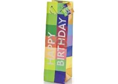 BSB Luxusní dárková papírová taška 36 x 10,5 x 10 cm Happy Birthday LDT 290-F