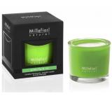 Millefiori Milano Natural Green Fig & Iris - Zelený fík a kosatec Vonná svíčka hoří až 60 hodin 180 g