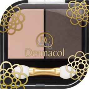 Dermacol Duo Eyeshadow oční stíny 02 5 g