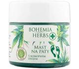 Bohemia Gifts & Cosmetics Herbs Cannabis mast na paty s konopným olejem 120 ml