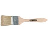 Spokar Štětec plochý zahlazovák, dřevěné držadlo, čistá štětina, tloušťka 4 mm