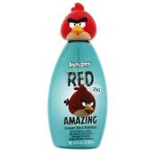 Angry Birds Red 3D 2v1 šampon a sprchový gel 300 ml zelený
