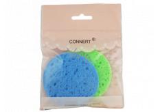 Connert Houbička odličovací celulózová na make-up sada 2 kusy