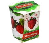 Admit Verona Strawberry - Jahoda vonná svíčka ve skle 90 g