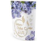 Nekupto Svítící lucerna Domov, láska, štěstí 13,7 x 20 x 5 cm