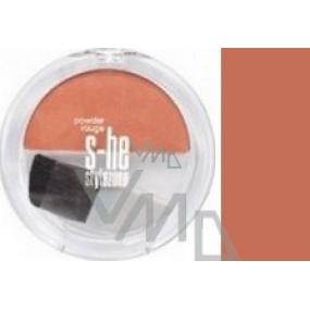 S-he Stylezone Powder Rouge Tvářenka odstín 651/04 5 g
