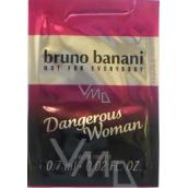 Bruno Banani Dangerous Woman toaletní voda 0,7 ml, Vialka