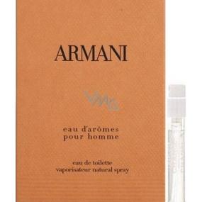 Giorgio Armani Eau d Aromes toaletní voda 1,5 ml s rozprašovačem, vialka