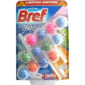 Bref Power Aktiv 4 Formula Tropic Freshness WC blok 3 x 50 g