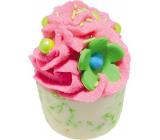 Bomb Cosmetics Jablko a Malina - Apple & Raspberry Mallow Špalíček do koupele 50 g