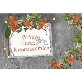 Bohemia Vonný sáček Voňavý dáreček k narozeninám P4 Oceanic 17 x 11,5 x 1,5 cm