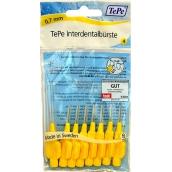 TePe Original Mezizubní kartáčky Normal 0,7 mm žlutý 8 kusů