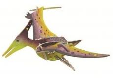 Dřevěné puzzle dinosauři 2 Pteranodon 20 x 15 cm
