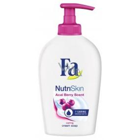 Fa NutriSkin Moisturising Acai Berry tekuté mýdlo dávkovač 250 ml