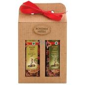 Bohemia Gifts & Cosmetics Hadí jed sprchový gel 250 ml + vlasový šampon 250 ml, kosmetická sada