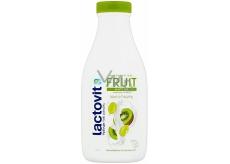 Lactovit Fruit Antiox Pružnost a péče kiwi a hrozny sprchový gel pro normální až suchou pleť 500 ml