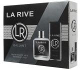 La Rive Gallant toaletní voda pro muže 100 ml + deodorant sprej 150 ml, dárková sada