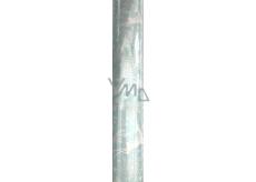 Zöllner Vánoční balicí papír světle modrý - bílý jelen, vločky 2 m x 70 cm