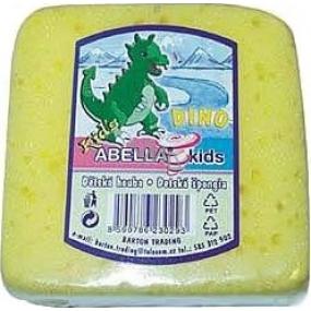 Abella Kids Dino koupelová houba různé barvy 9 x 9 x 4,5 cm 1 kus