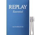 Replay Essential for Him toaletní voda 2 ml, vialka