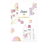 Dove Nourishing Secrets Obnovující Ritual Pivoňka sprchový gel 250 ml + deodorant antiperspirant sprej 150 ml kosmetická sada