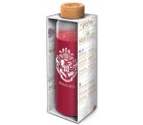 Epee Merch Harry Potter skleněná láhev se silikonovým návlekem 585 ml