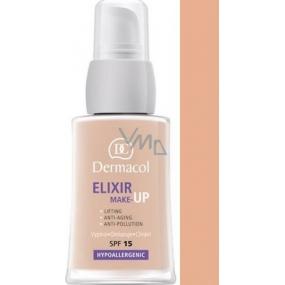 Dermacol Elixir SPF15 make-up 02 Omlazující liftingový 30 ml