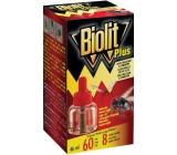 Biolit Plus Odpačovač tekutá náplň proti mouchám a komárům 46 ml