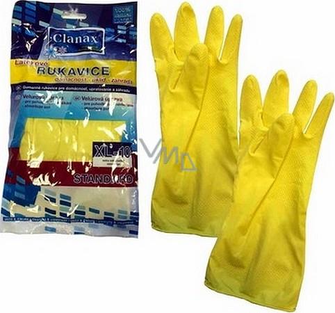 Clanax Latexové rukavice Standard XL-10 extra velké 1 pár