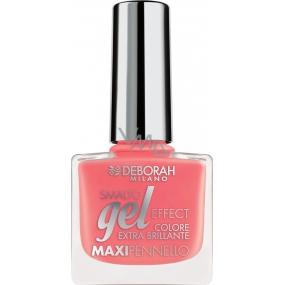 Deborah Milano Gel Effect Nail Enamel gelový lak na nehty 23 Candy Pink 11 ml