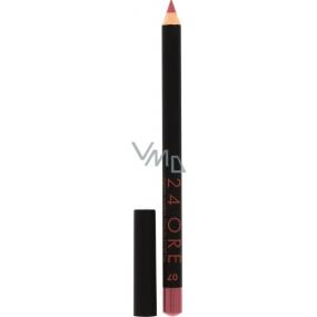 Deborah Milano 24Ore Lip Pencil konturovací tužka na rty 07 Antique Rose 0,4 g