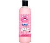 On Line Kids Time Jahody 2v1 sprchový gel a šampon na vlasy pro děti 500 ml