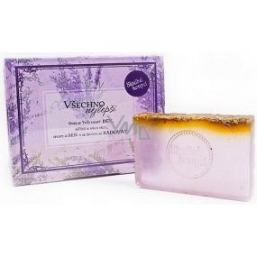 Albi Relax Levandulové mýdlo v krabičce Všechno nejlepší 01