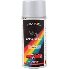 Motip Škoda Acryl Spray barva na disky kol SD0005 stříbrná 150 ml