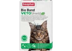Beaphar Bio Band Veto Shield Přírodní repelentní obojek pro kočky a koťata 35 cm