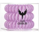HH Simonsen Hair Cuddles Purple gumičky do vlasů fialové 3 kusy