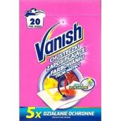Vanish Color Protect ubrousky proti obarvení prádla 20 kusů