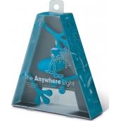 If The Anywhere Light Multifunkční lampička modrá 125 x 35 x 150 mm