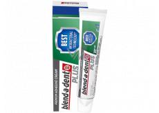 Blend-a-dent Plus Dual Protection prémiový fixační krém na úplnou a částečnou zubní náhradu 40 g