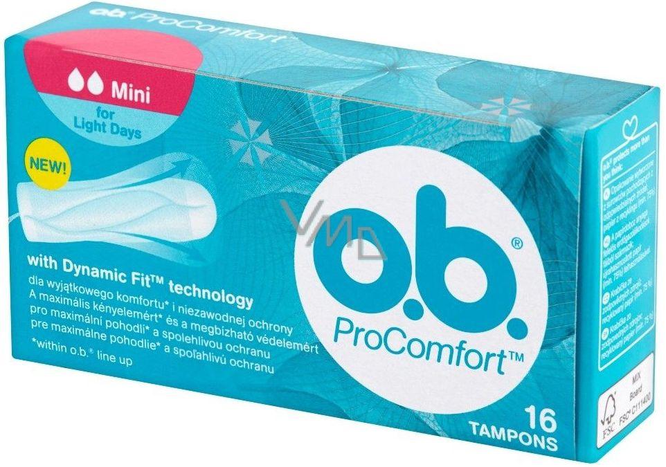 OB Tampons PC Mini 16pcs NEW 9...