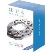 Huzzle Cast Coaster kovový hlavolam, obtížnost 4