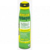 Predator Repelent Deet 16% repelentní sprej odpuzuje komáry a klíšťata 150 ml