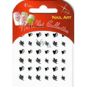 Absolute Cosmetics Nail Art samolepící nálepky na nehty 10100-8 1 aršík