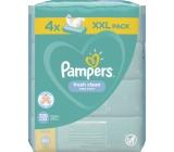 Pampers Fresh Clean vlhčené ubrousky pro děti 4 x 80 kusů