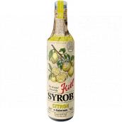 Kitl Syrob Bio Citron s dužninou sirup pro domácí limonády 500 ml