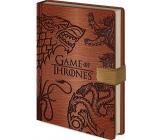 Epee Merch Hra o Trůny Game of Thrones - Sigils Blok A5 21 x 15 cm premium linkovaný