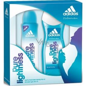 Adidas Pure Lightness deodorant sprej 150 ml + sprchový gel 250 ml, kosmetická sada
